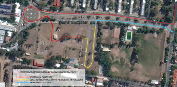 Condiciones para el acceso y utilización del sector de estacionamiento del LMGE