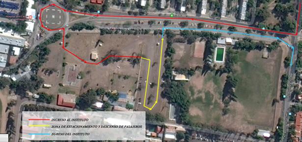 Condiciones para el acceso, egreso y utilización del sector de estacionamiento del LMGE