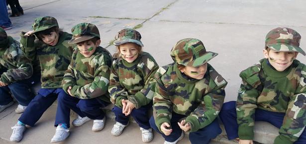 Festejo por el día del Ejército Argentino