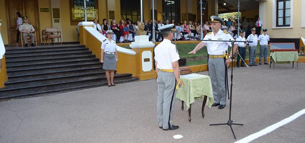 Ceremonia de puesta en posesión del cargo de Director, Subdirector y Jefe de Cuerpo de Cadetes
